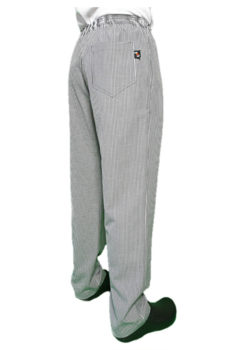 Club Chef Traditional Check Drawstring Trouser