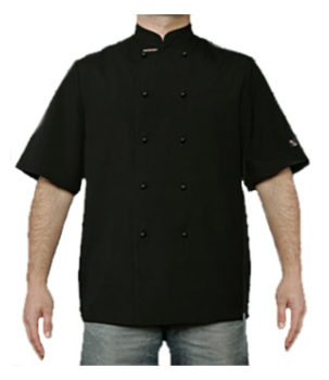 Club Chef Traditional Chef Jacket - Short Sleeves