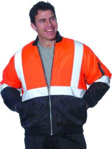 Huski Bomber Jacket Orange