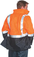 Huski Transit Jacket Orange