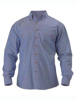 Bisley Chambray Shirt Long Sleeve