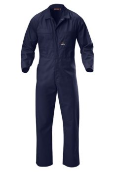 Hard Yakka Lightweight Poly/Cotton Coverall  - Navy