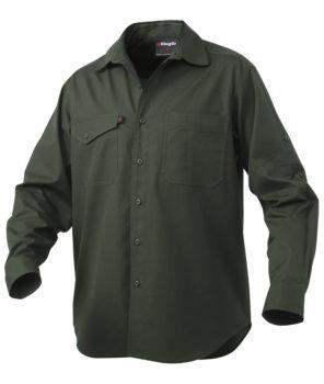 King Gee Workcool2 LS Shirt - Green