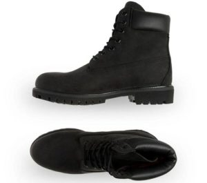Timberland Men's 6-Inch Premium Waterproof Boot - Black Nubuck